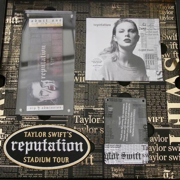 Taylor swift other reputation vip package poshmark m5af0aee39cc7efe27cd627df m4hsunfo